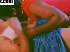 Classic Indian mallu aunty with lover fucking on bed