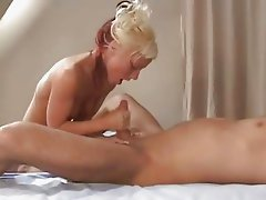 blowjob, handjob, facial