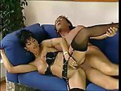 Slim Mom In Lingerie Screwed & Facialized