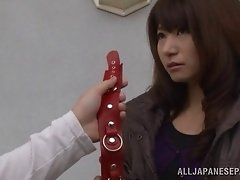 Naomi Sugawara gets fucked from behind in BDSM clip