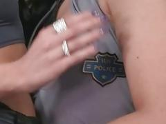 Hot girls in uniform enjoying nasty sex