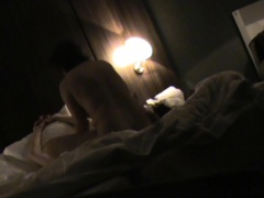 Cheating brunette milf has sex with her lover on hidden cam