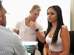 Ariana Marie bends over for a lover's erected pleasure rod