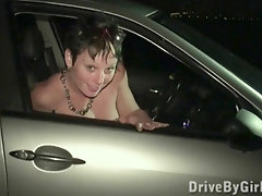 Public Gang Dt With Random Strangers Thru Van Window
