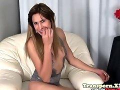 smalltits ts spreading her tight asshole
