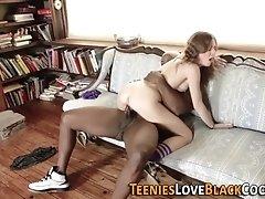 Teen rides black coach