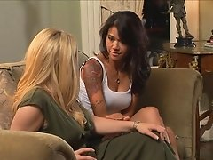 Aiden Starr and Dana Vespoli are fucking hard