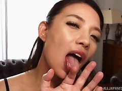Gorgeous Asian babes seduce a lover with their stunning bodies