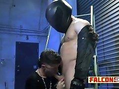 Sensual gay battering with tight butt boys
