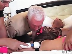 Joslyn James Tied Up While 4 Guys Do What They Want