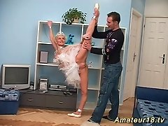flexi sex with skinny ballerina