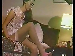 Home video of a sexy MILF giving a guy a great blowjob