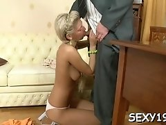 Stupefying bombshell gets drilled through
