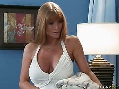 Milf of your dream Darla Crane shows off her massive boobies