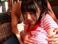 Buxom Asian milf with big tits getting slammed hardcore until orgasm