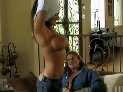 Austin Kincaid with big tits is addicted to a cowgirl style sex in close up