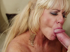 Zena Rey gets fucked in a hot blowjob and bang action