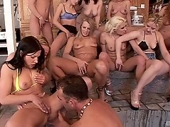 Gia Paloma and her friends get their tight pussies eaten