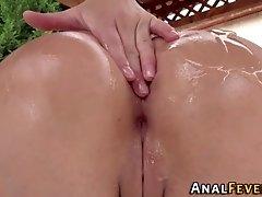Round butt fucked slut