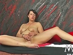 MMV FILMS Amateur Mature Threesome with his BF wif