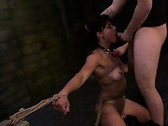 FetishNetwork Valentina on first bondage