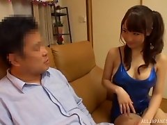 Beautiful Mao Kurata can't wait to take that thing deep into pussy