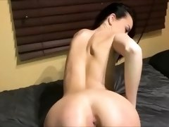 Sensual brunette takes every inch of dark meat in her cunt