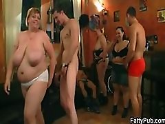 BBW Sluts Suck Cock and Get Fucked In a Bonerific Group Sex Party