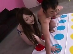 Ria Sakurai spreads legs for nasty dildo stimulation