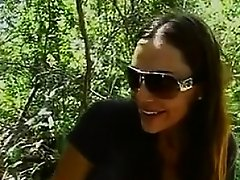 MILF Having Sex Outdoors In The Woods