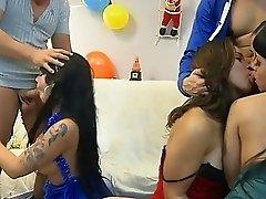 Nuria Samoa, Noemi, Laura Moreno and Gigi Jenny Hard