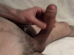 Uncut cock cumming part 2