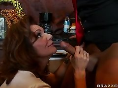 Mature Brunette Deauxma Squirting To a Big Dick Anal Fucking