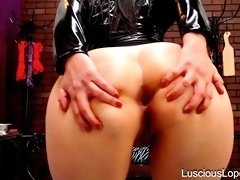Luscious Lopez  ass worship commands
