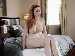 Busty redhead stepmom Lauren Phillips fucked by black man
