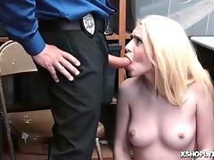 Joseline Kelly blowjob the LP Officer