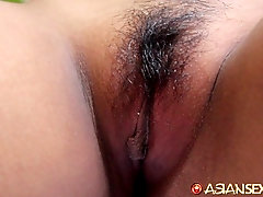Exploring tight wet pussy and getting a nice soft blowjob
