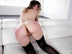 Tattooed hottie Misha Cross gets her butt destroyed with a fat dick