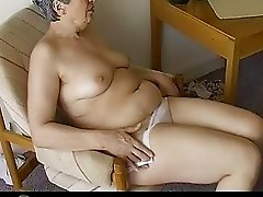 OmaPass Very old Chubby Granma has sex with househ