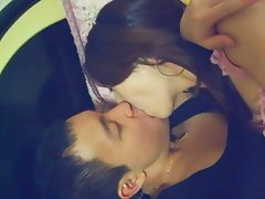 Asian cute couple
