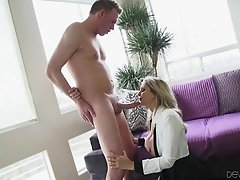 Amazing sex with the cock thirsty mommy Julia Ann