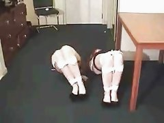 TWO GIRLS TIED & GAGGED
