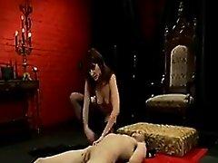 Mistress Abusing Her Slave