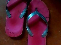 not My aunt flip flops