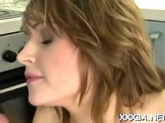 Wanton blonde Karen Newman with curvy tits gets wrecked
