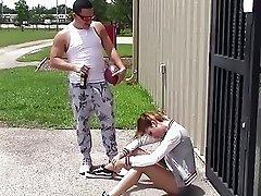 TheReaLWorkout - Slutty Brunette Gets Fucked To Make The Team