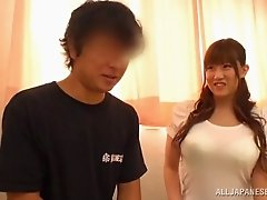 Japanese Babe With Perfect Natural Tits Gets Her Yummy Pussy Licked