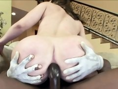 PAWG Leenuh Rae is a BBC Slave Begging for Anal Plowing