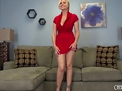 Julia Ann brings all her milf curves to a sexy solo scene