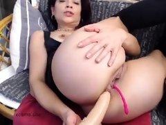 redhead milf anal solo dildo